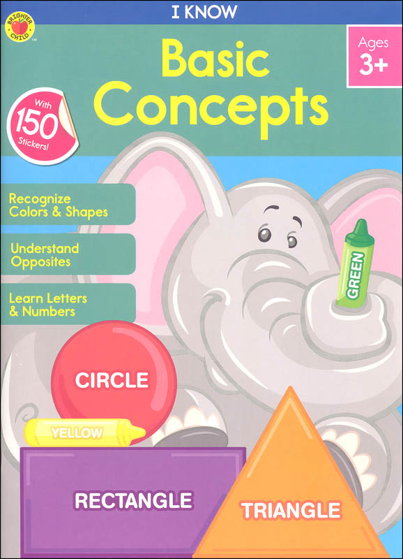 I Know: Basic Concepts Activity Book