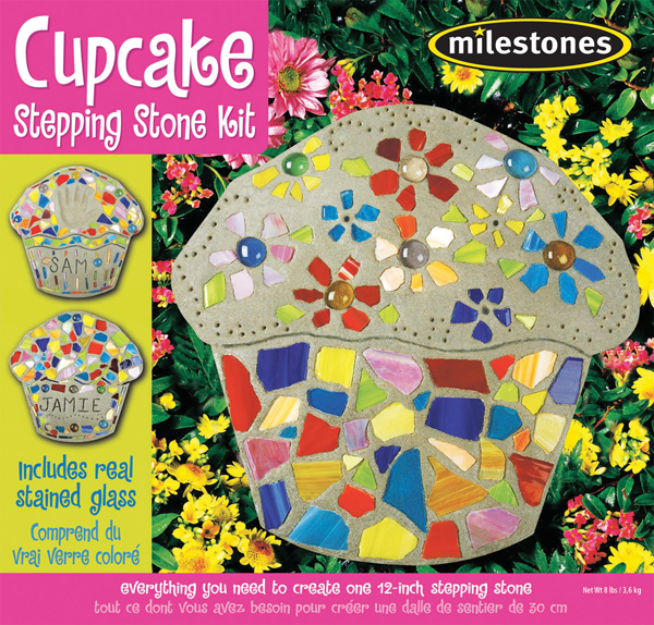 Cupcake Stepping Stone Kit