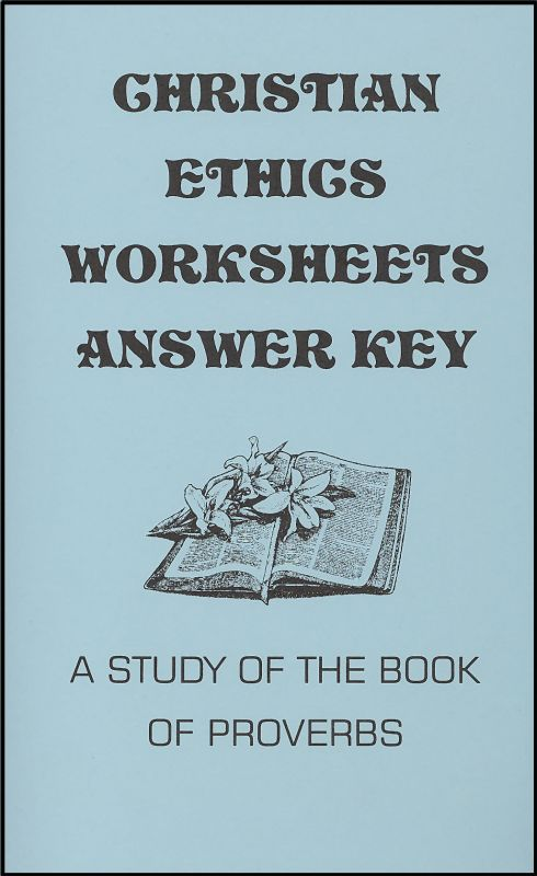 Christian Ethics Answer Key