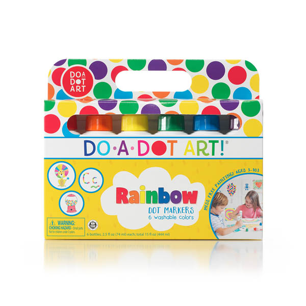 Do-A-Dot Rainbow Marker 6-Pack Washable