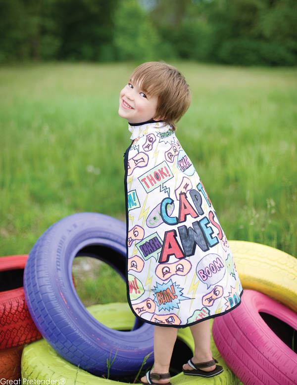 Color-A-Cape Super Hero (size 5-6)