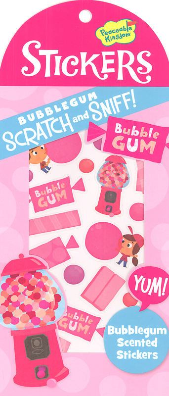 Bubblegum Scratch & Sniff! Stickers