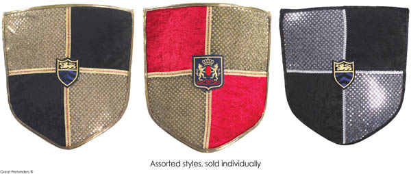 Deluxe Knight Shield (assorted color)