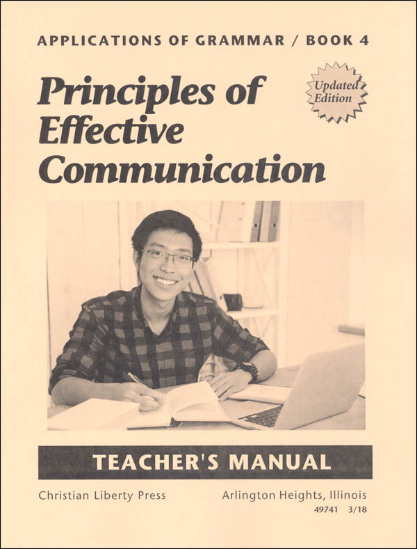 Applications of Grammar 4 Teacher Manual Updated Edition