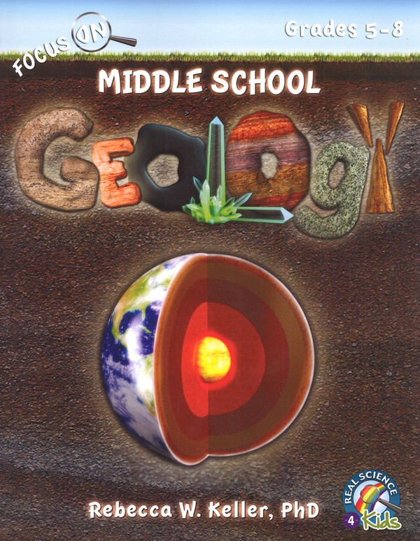 Focus on Middle School Geology Text (softcover)