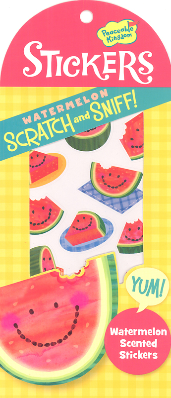 Watermelon Scratch & Sniff! Stickers