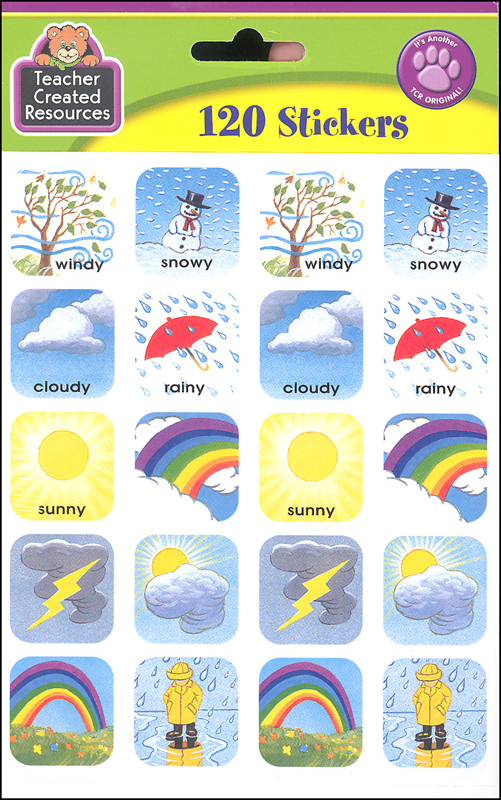 Weather Stickers