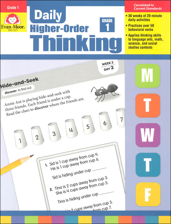 Daily Higher-Order Thinking: Grade 1