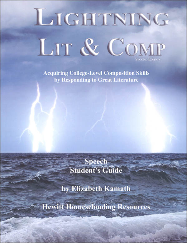Lightning Literature & Composition Speech Student Guide