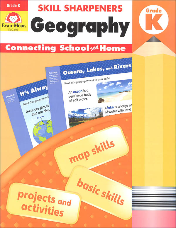 Skill Sharpeners: Geography - Grade K