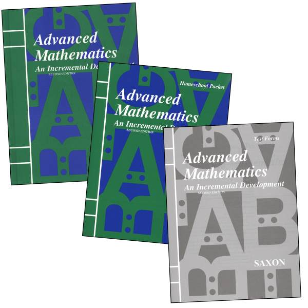 Saxon Advanced Math 2ED Homeschool Kit