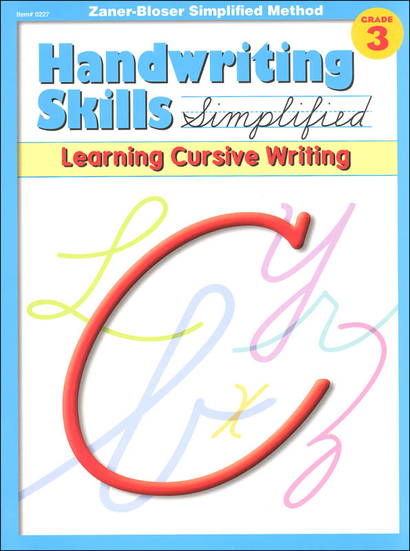 Handwriting Skills Simplified Level C