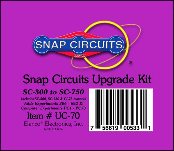Snap Circuits Upgrade Kit SC-300 to SC-750