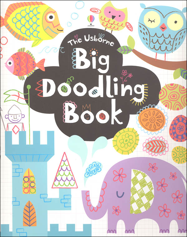 Big Doodling Book (Usborne)