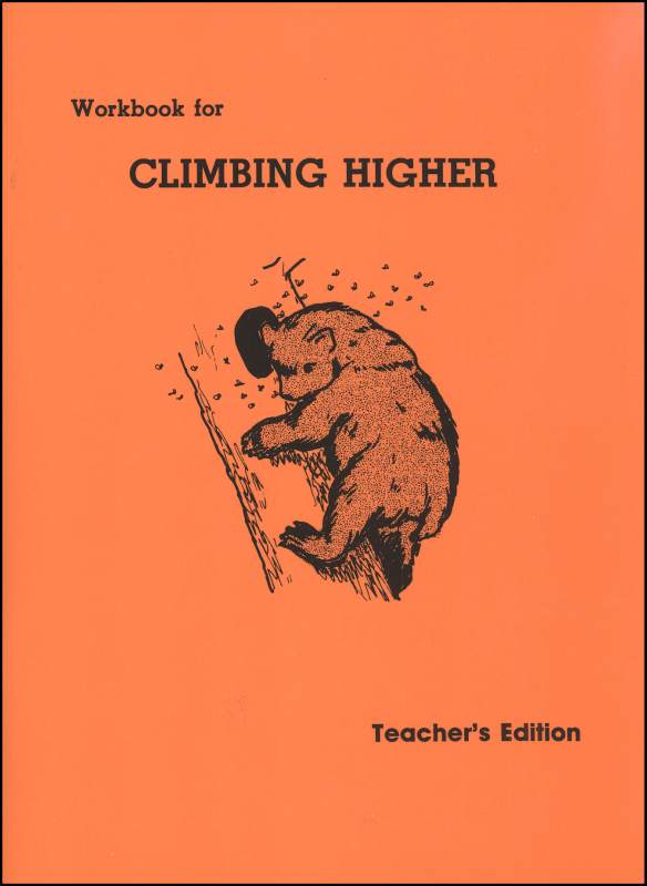 Climbing Higher Workbook Teacher's Edition