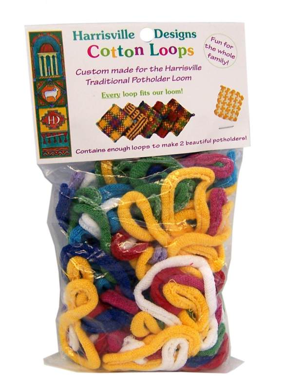 Cotton Loops for Potholder Loom