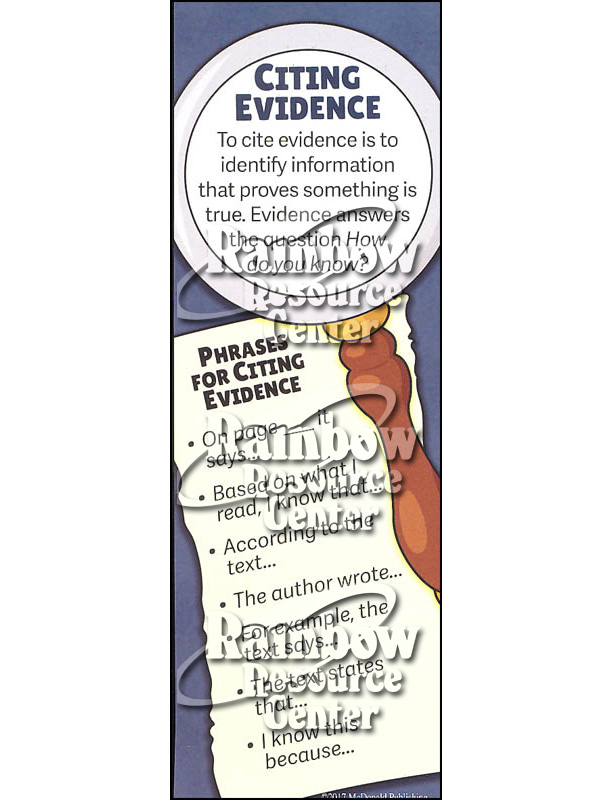 Citing Evidence & Making Inferences Smart Bookmark