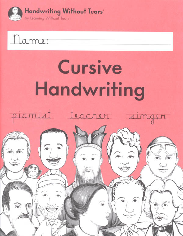 Cursive Handwriting Student Workbook Handwriting Without Tears  9781939814487