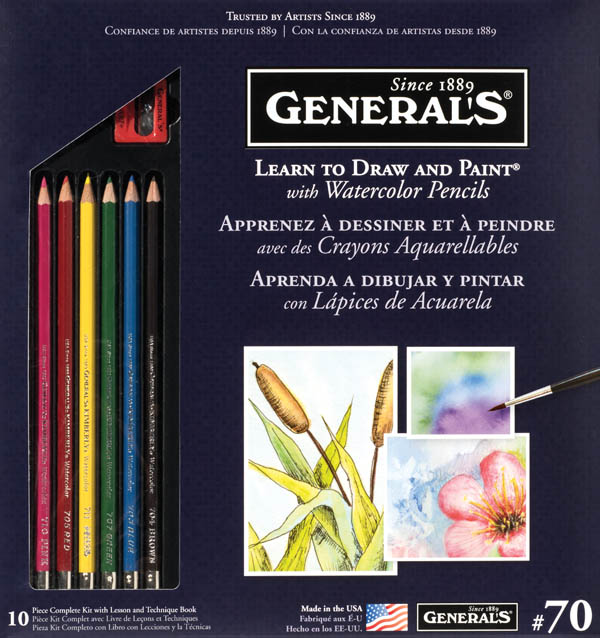 Learn to Draw and Paint w/ Watercolor Pencils