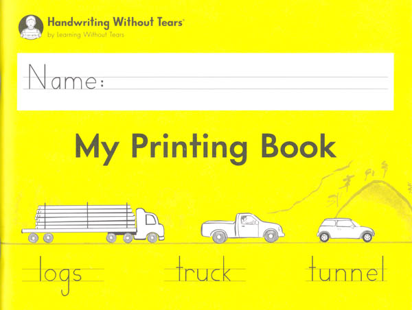 My Printing Book Student Workbook