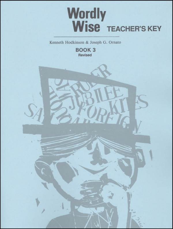 Wordly Wise 3 Teacher Key