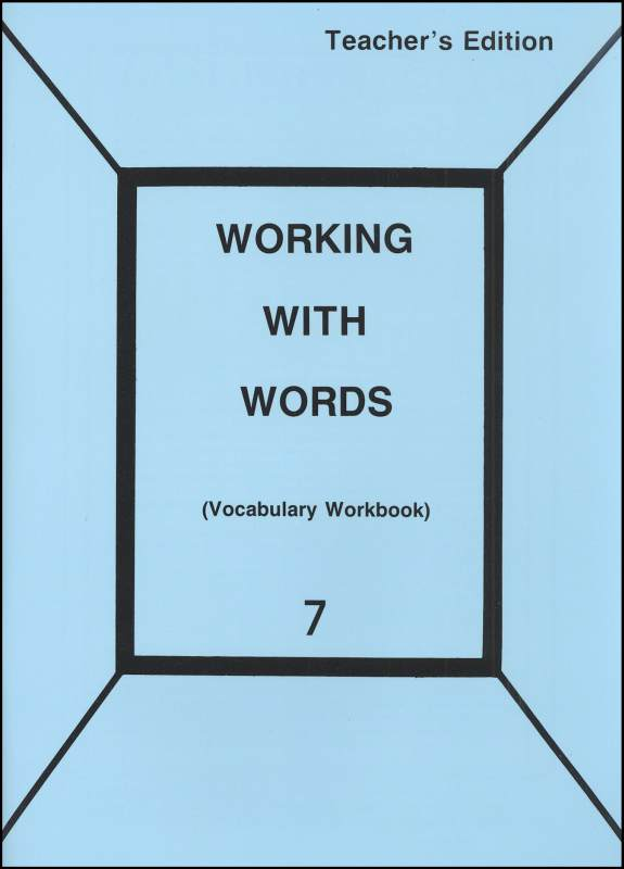 Working with Words 7 Teacher
