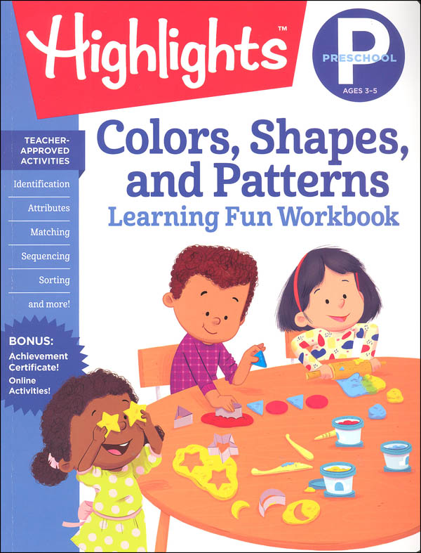 Preschool Colors, Shapes, and Patterns (Highlights Learning Fun Workbook)