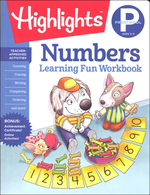 Preschool Numbers (Highlights Learning Fun Workbook)