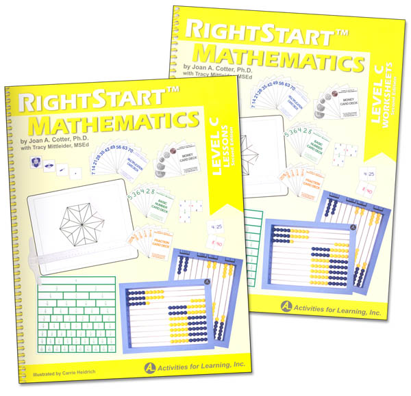 RightStart Mathematics Level C Book Bundle 2nd Edition