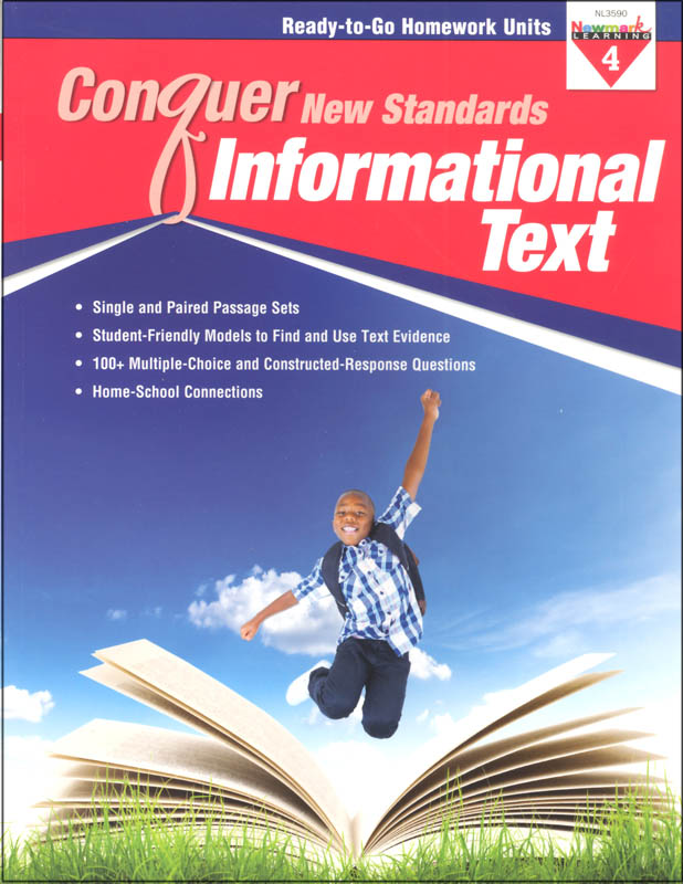 Conquer New Standards Informational Text Grade 4