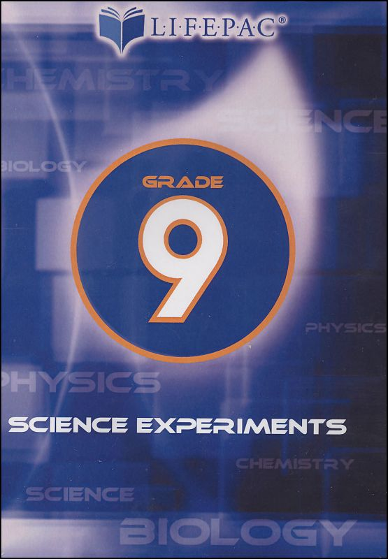 Science Experiments Grade 9 DVD