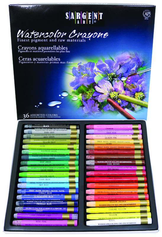 Water Color Crayons (36 count)