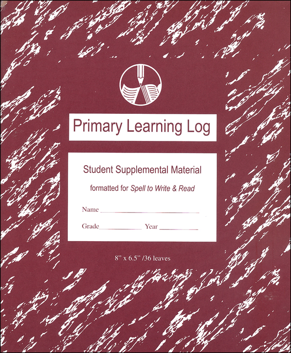 Primary Learning Log for Wise Guide for Spelling