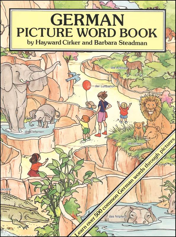 German Picture Word Book