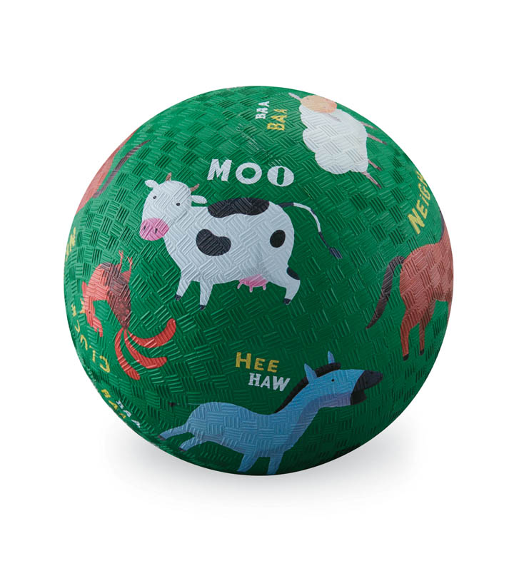 Barnyard Playground Ball - 5 inch