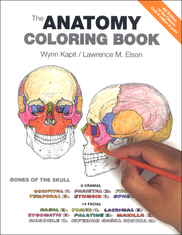 Anatomy Coloring Book 4ED Benjamin-Cummings Publishing 9780321832016