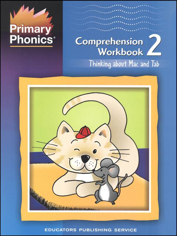 Primary Phonics Comprehension Workbook 2