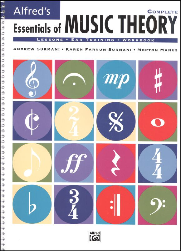 Essentials of Music Theory Complete Lesson Book
