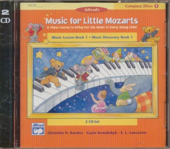 Music for Little Mozarts CDs for Book 1