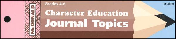 Character Education Journal Booklet