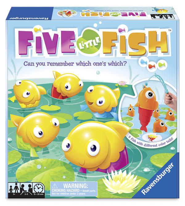 Five Little Fish Game Ravensburger