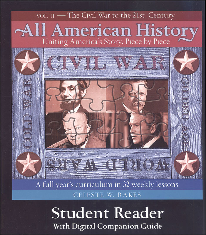 All American History Vol. 2 Student Reader w/ Downloadable Companion Guide