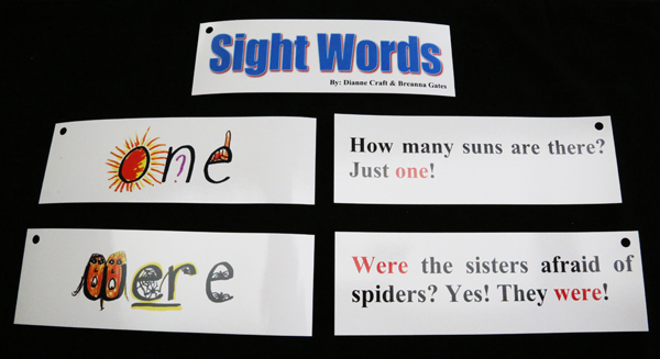 Right Brain Sight Words Flash Cards