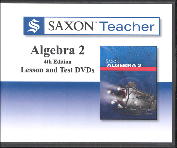 Saxon Teacher for Algebra 2 4th Edition DVDs