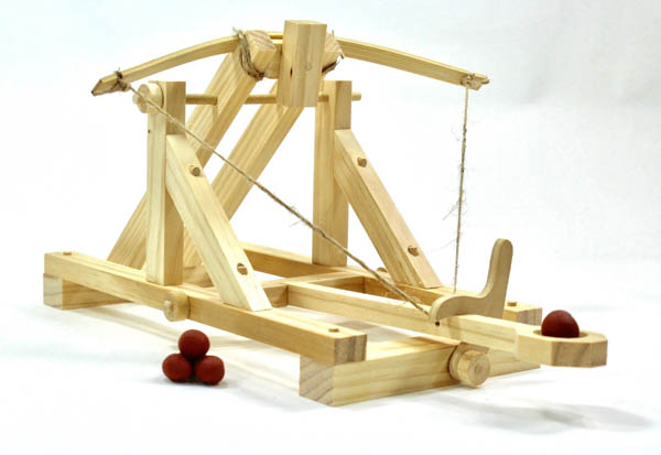 Roman Catapult (Ancient Siege Engines)