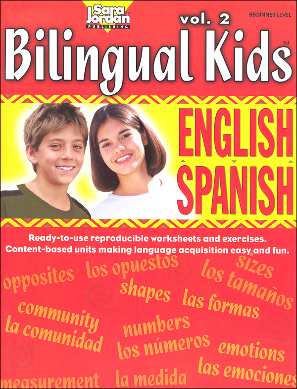 Bilingual Kids English-Spanish Reproducible Resource Book Volume 2