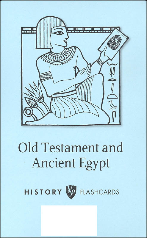 Veritas History Old Testament through Ancient Egypt Cards