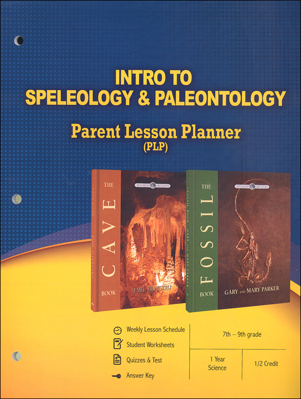 Intro to Speleology & Paleontology (Parent Lesson Planner)
