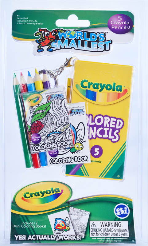 World's Smallest Crayola Color Pencils and Mini Coloring ...