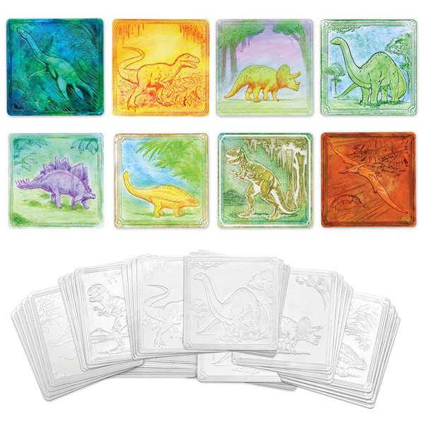 Embossed Paper Set - Dinosaur Collection